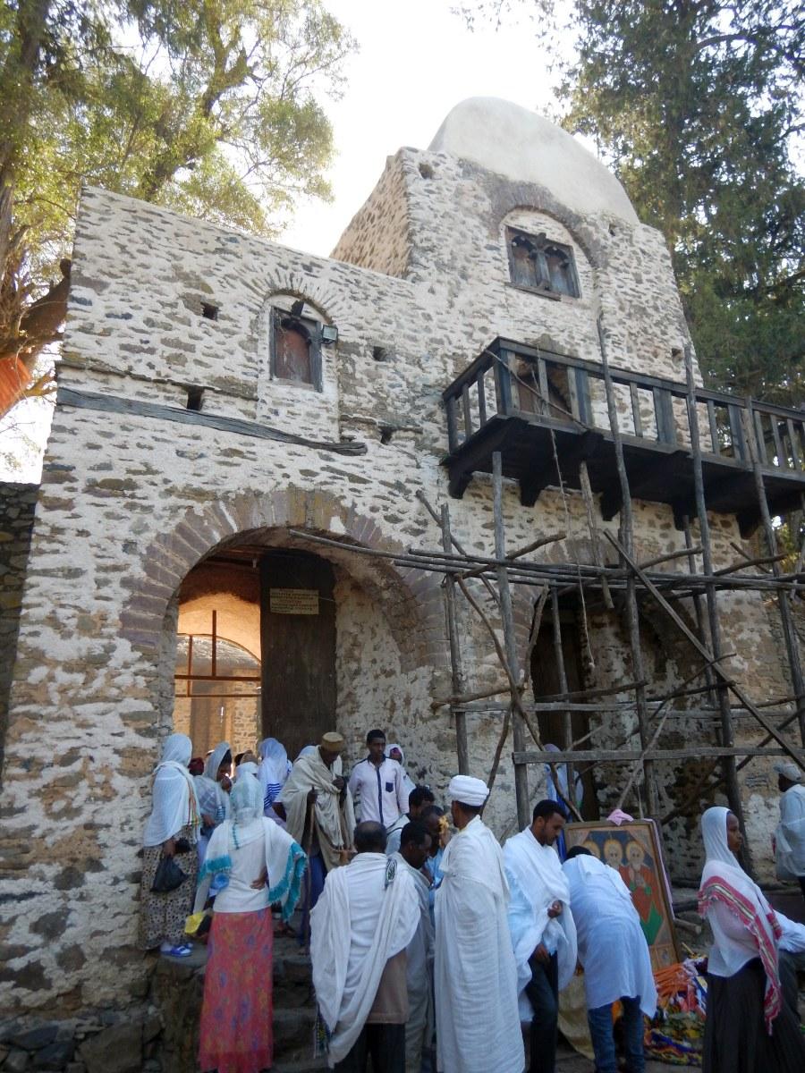 Voyage Séjour Road Trip Trek Trekking Randonnée en Ethiopie. Visite de Gondar en Ethiopie. L'Eglise Debre Birham Selassie de Gondar