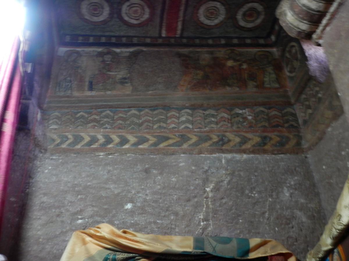 La naissance. Visite de l'église Beta Maryam de Lalibela en Ethiopie  Trek à  Lalibela Voyage Séjour Trekking Randonnée Road Trip en Ethiopie.