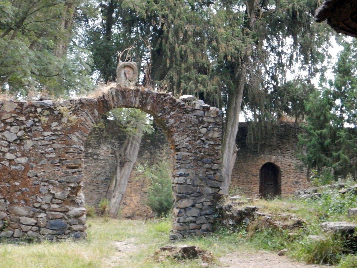 Le symbole du Lion de Judah. Voyage Séjour Road Trip Trek Trekking Randonnée en Ethiopie. Visite de Gondar en Ethiopie. L'Eglise Debre Birham Selassie de Gondar