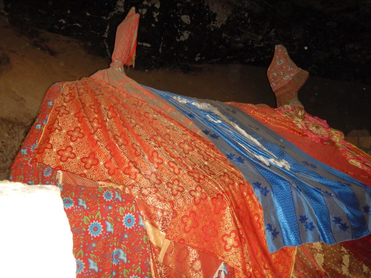 La sépulchre du saint Roi Yemrehanna Krestos. L'église de Yemrehanna Kristos Trek à  Lalibela Voyage Séjour Trekking Randonnée Road Trip en Ethiopie.