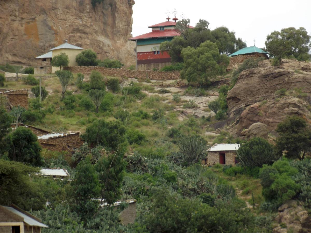 Trek et randonnée, Road Trip jusqu'à Debre Damo en Ethiopie.