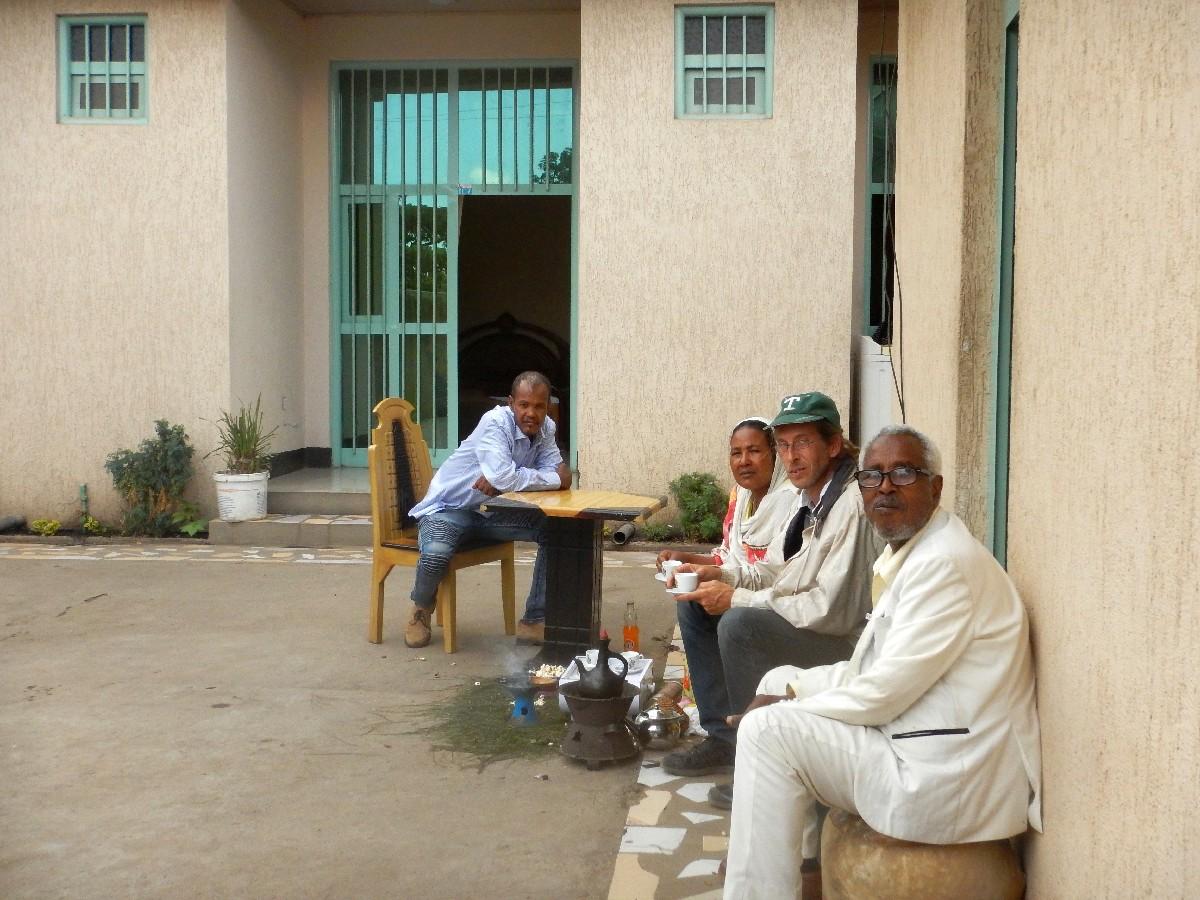 Une maison d'hôte de shashamane. Voyage Séjour Trek Trekking Randonnée Road Trip en Ethiopie Visite de la Région Oromia en Ethiopie. Shashamane.