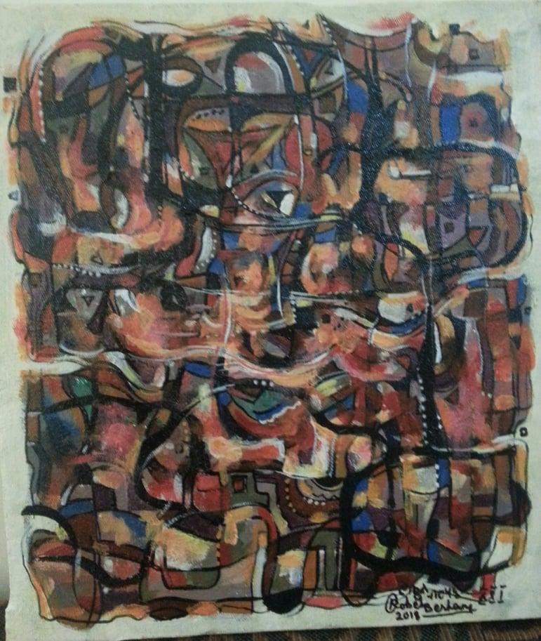 Robel Berhane, Ethiopian Artist Painter , Artiste Peintre éthiopien. Mawuli-Ethiopie Art Ethiopien Artistes Peintres  Association Plateforme Commerce  Artisanat Ethiopien Solidaire Equitable en Ethiopie Made in Ethiopia