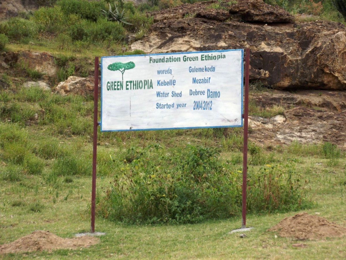 L'endroit est protégé , il fait partie du vaste programme de preservation des espaces verts Green Ethiopia