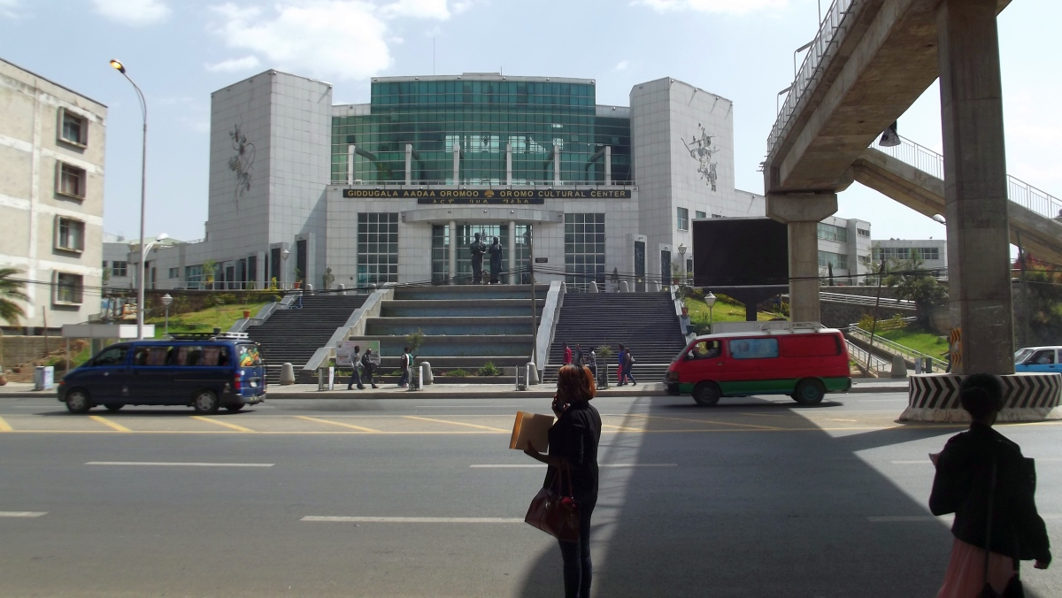 Centre Culturel Oromo. Trek, randonnée et visite d'Addis Abeba.