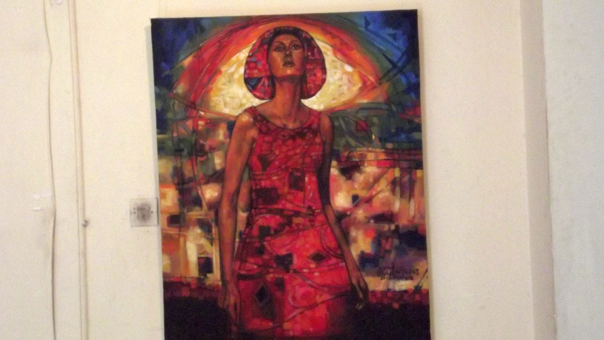 Art contemporains éthiopiens, Artistes Peintres d'Ethiopie. Visite de Addis Abeba, capitale de l'Ethiopie. Voyage Séjour Trekking et randonnée, Road trip en Ethiopie.  Région Amhara.