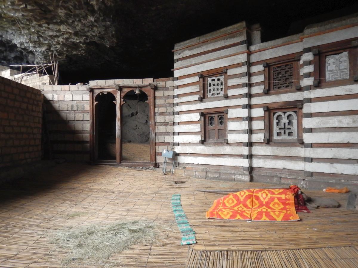Yemrehanna Krystos Church. L'église de Yemrehanna Kristos, une oeuvre d'art. Trek à  Lalibela Voyage Séjour Trekking Randonnée Road Trip en Ethiopie.