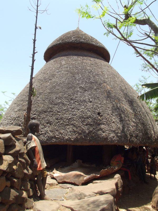 Les Pafta du Village de Ganolé au Pays Konso. Voyage Séjour Trek Trekking Randonnée Road Trip en Ethiopie Visite de la Vallée de l'Omo en Ethiopie.