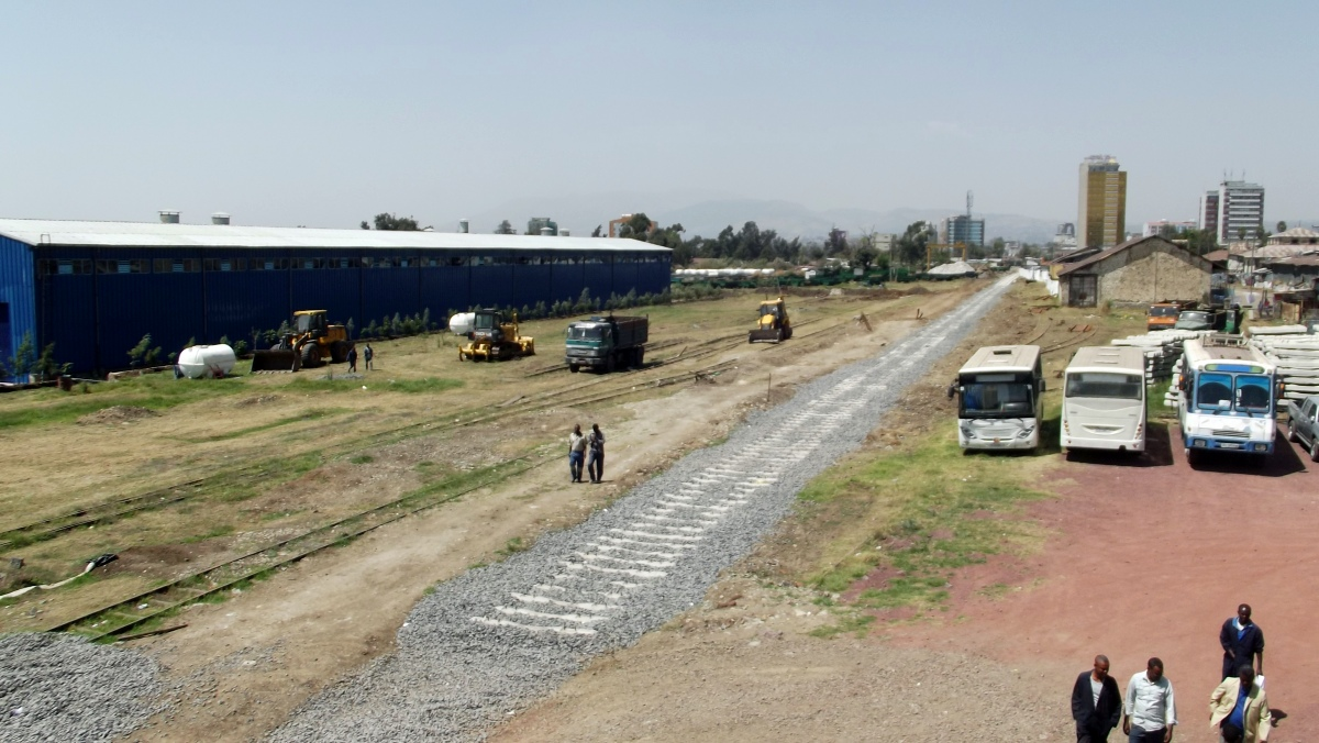 Visite de Addis Abeba, capitale de l'Ethiopie. Voyage Séjour Trekking et randonnée, Road trip en Ethiopie.  Région Amhara.. Visite de la gare d'Addis Abeba en Ethiopie.