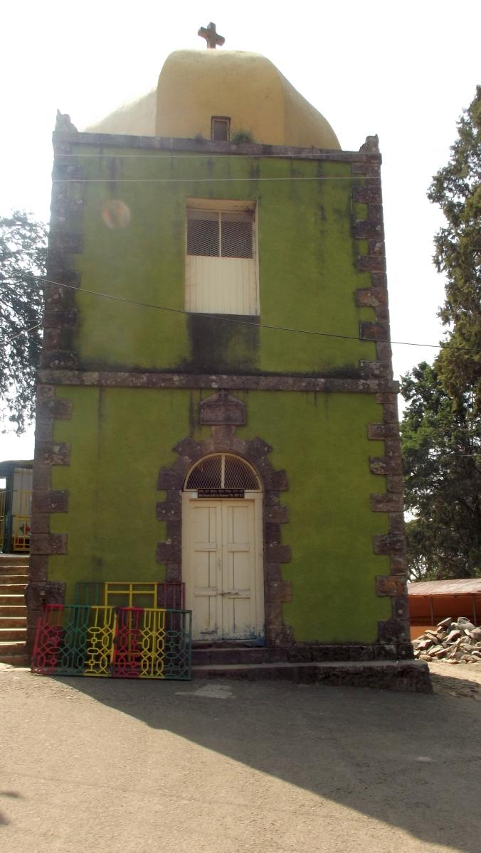 La Chapelle de Taitu. Visite de l'église Sainte Maryam d'Entoto d'Addis Abeba en Ethiopie.