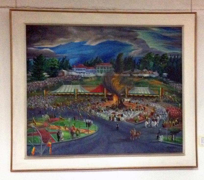 Les fêtes du couronnement d'Haile Selassie I (2 nov 1930)