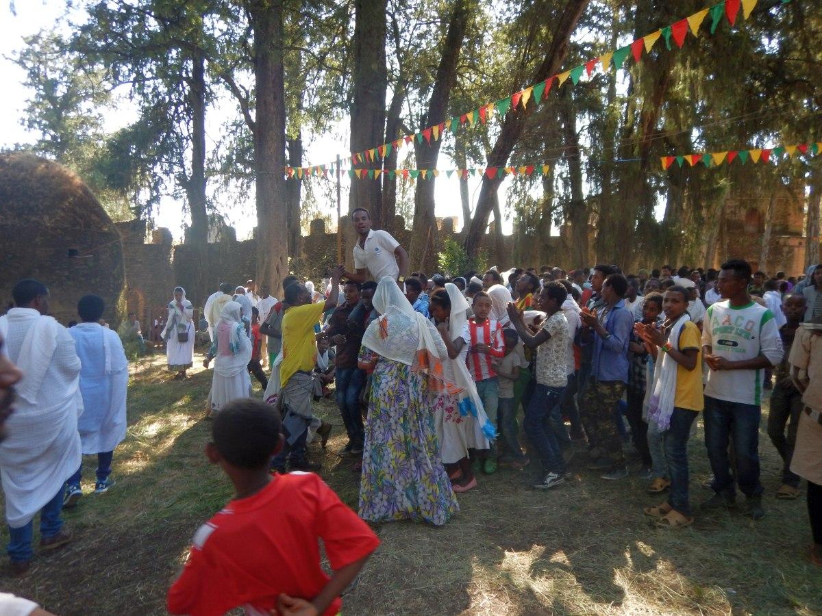 Voyage Séjour Road Trip Trek Trekking Randonnée en Ethiopie. Gondar en Ethiopie. L'Eglise Kuskuam Maryam de Gondar