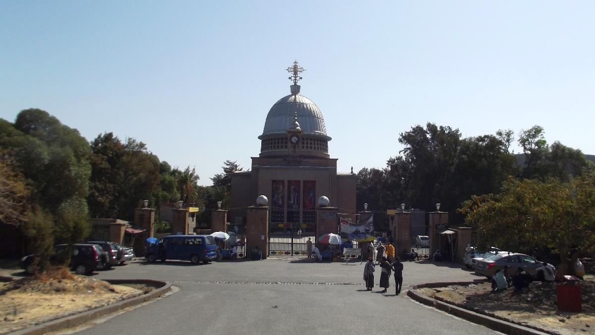 L'Eglise de Debre Libanos construite par HIM Haile Selassie I / Debre Libanos Church build by HIM Haile Selassie I.