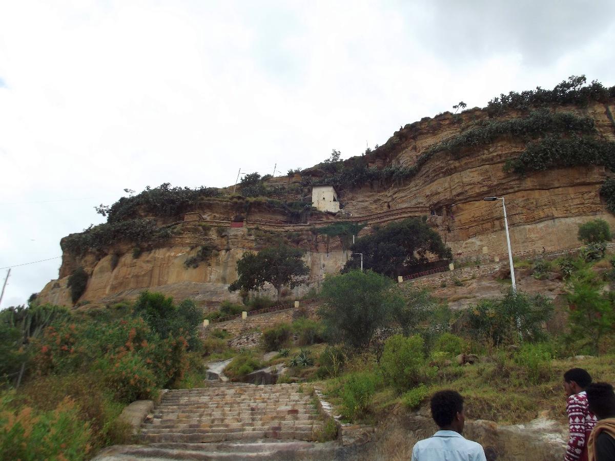 Voyage Séjour Road Trip Visite trekking et randonnée jusqu'au monastère Debre Damo en Ethiopie.