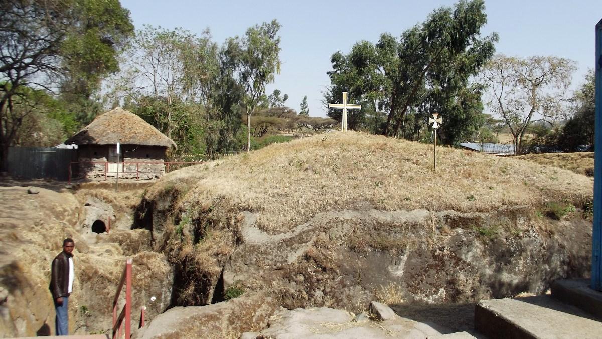 L'Eglise Adadi Maryam en Ethiopie. Voyage Séjour Trek Trekking Randonnée, Road Trip Visite de la Région Oromia en Ethiopie.  Adadi Maryam.