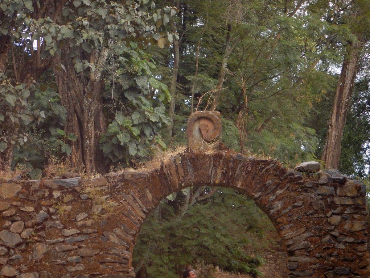 L'emblème de la monarchie salomonique. Voyage Séjour Road Trip Trek Trekking Randonnée en Ethiopie. Visite de Gondar en Ethiopie. L'Eglise Debre Birham Selassie de Gondar