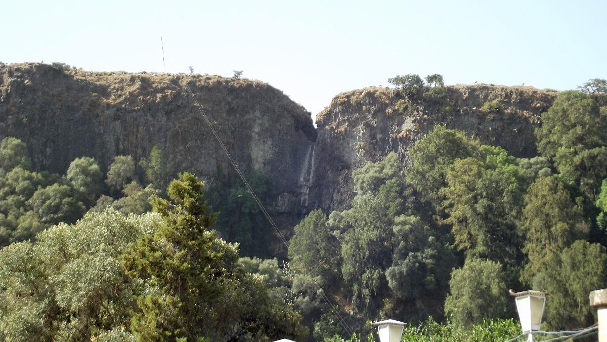 Les Chutes de Debre Libanos / Debre Libanos Waterfall. Voyage Séjour Road Trip Trek Trekking Randonnée en Ethiopie. Debre Libanos Road Trip en Ethiopie route de Debre Libanos à Addis Abeba