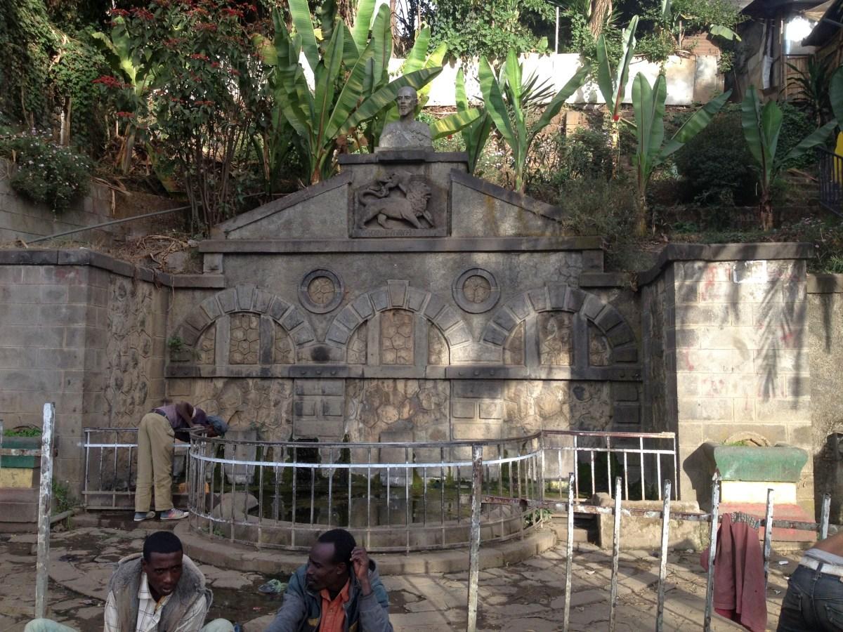 La Fontaine de Ras Makonen. Trek, randonnée et visite d'Addis Abeba.