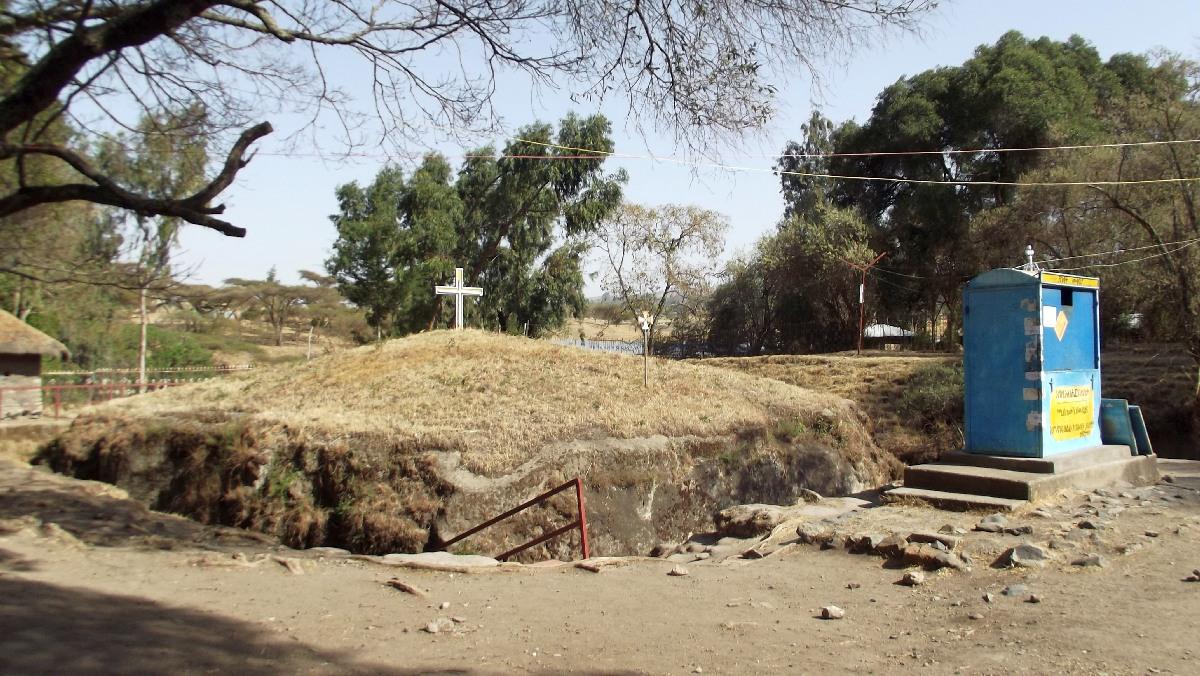 Adadi Maryam Church in Ethiopia. Voyage Séjour Trek et randonnée, Road trip et visite de la Région Oromia en Ethiopie.  Adadi Maryam.