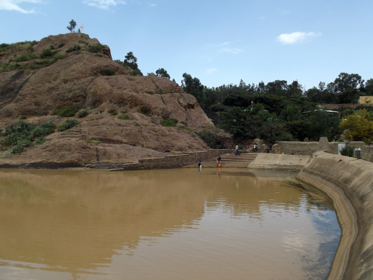 Voyage Séjour Trekking et randonnée, Road Trip en Ethiopie. Visite d'Axum en Ethiopie. La Piscine de la Reine de Saba