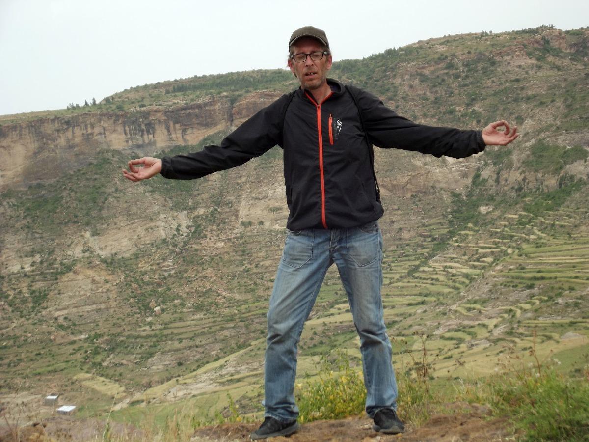 Enfin arrivé :). Voyage Séjour Road Trip Visite trekking et randonnée jusqu'au monastère Debre Damo en Ethiopie.