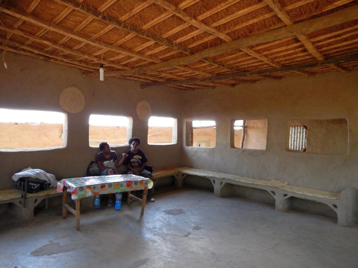 Un repos bien mérité. Trek, randonnée et visite de la communauté Awra Amba en Ethiopie.