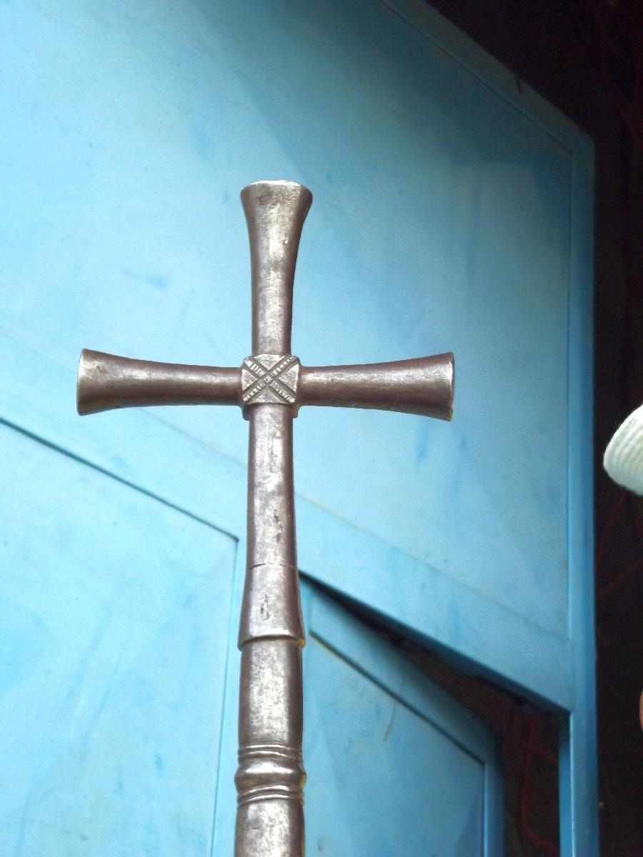 La Croix du St Pantalewon. Trek, randonnée et visite d'Axum en Ethiopie. Autour d'Axum. Le monastère St Pantalewon