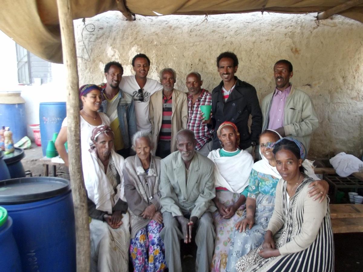 La famille qui m'a accueilli, Betam Amasagenalhu. Visite, trek et randonnée à Fastsi en Ethiopie