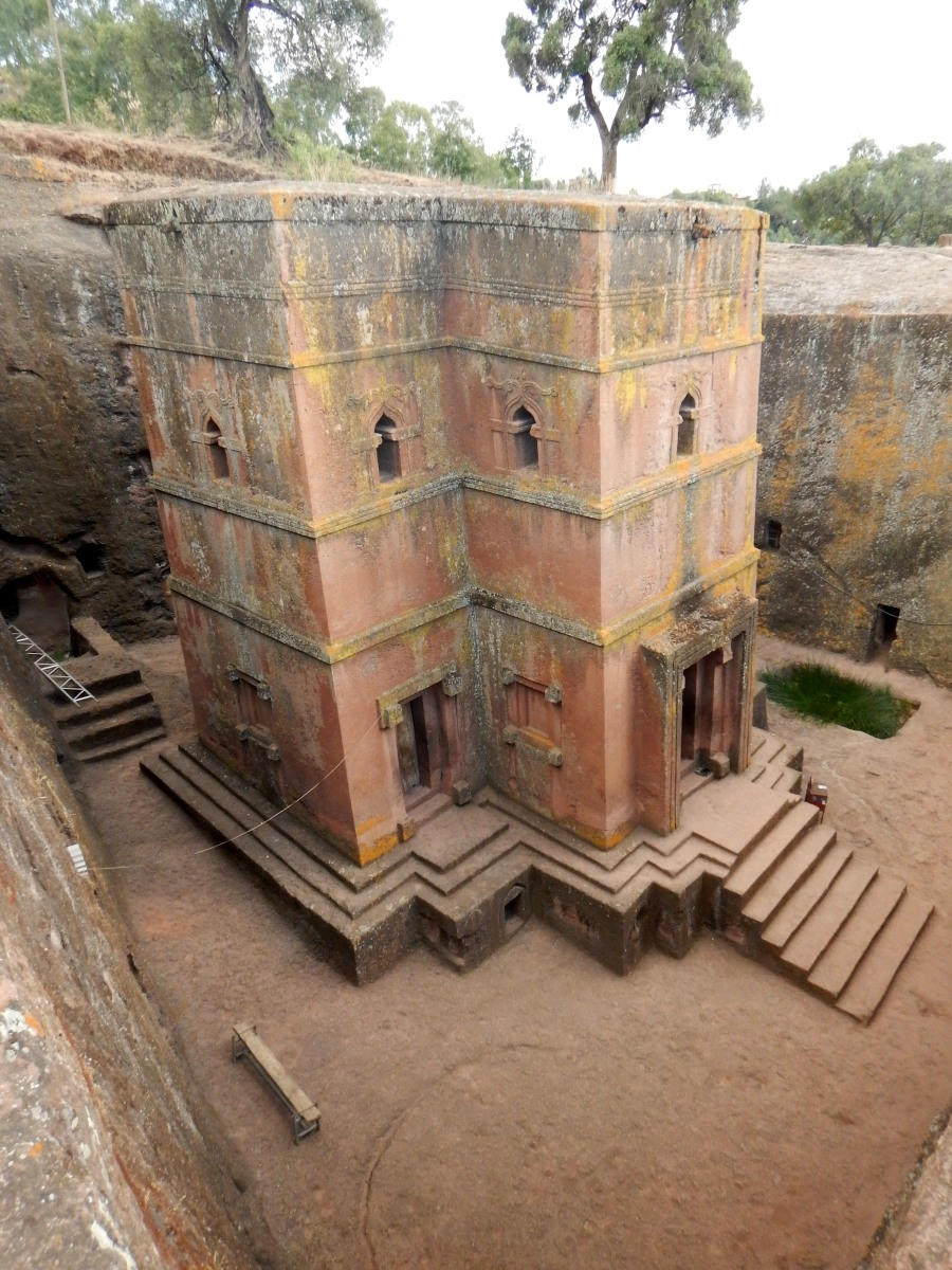 St Ghiorgis Church Lalibela