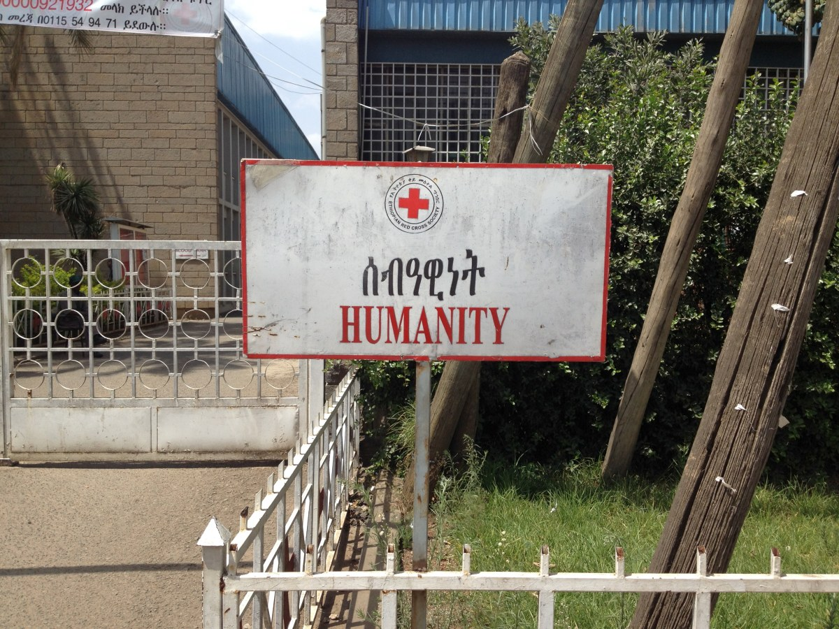 Trek, randonnée et visite d'Addis Abeba. La Croix Rouge Ethiopienne
