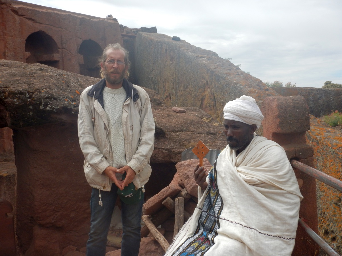 Visite du monastère de Lalibela en Ethiopie