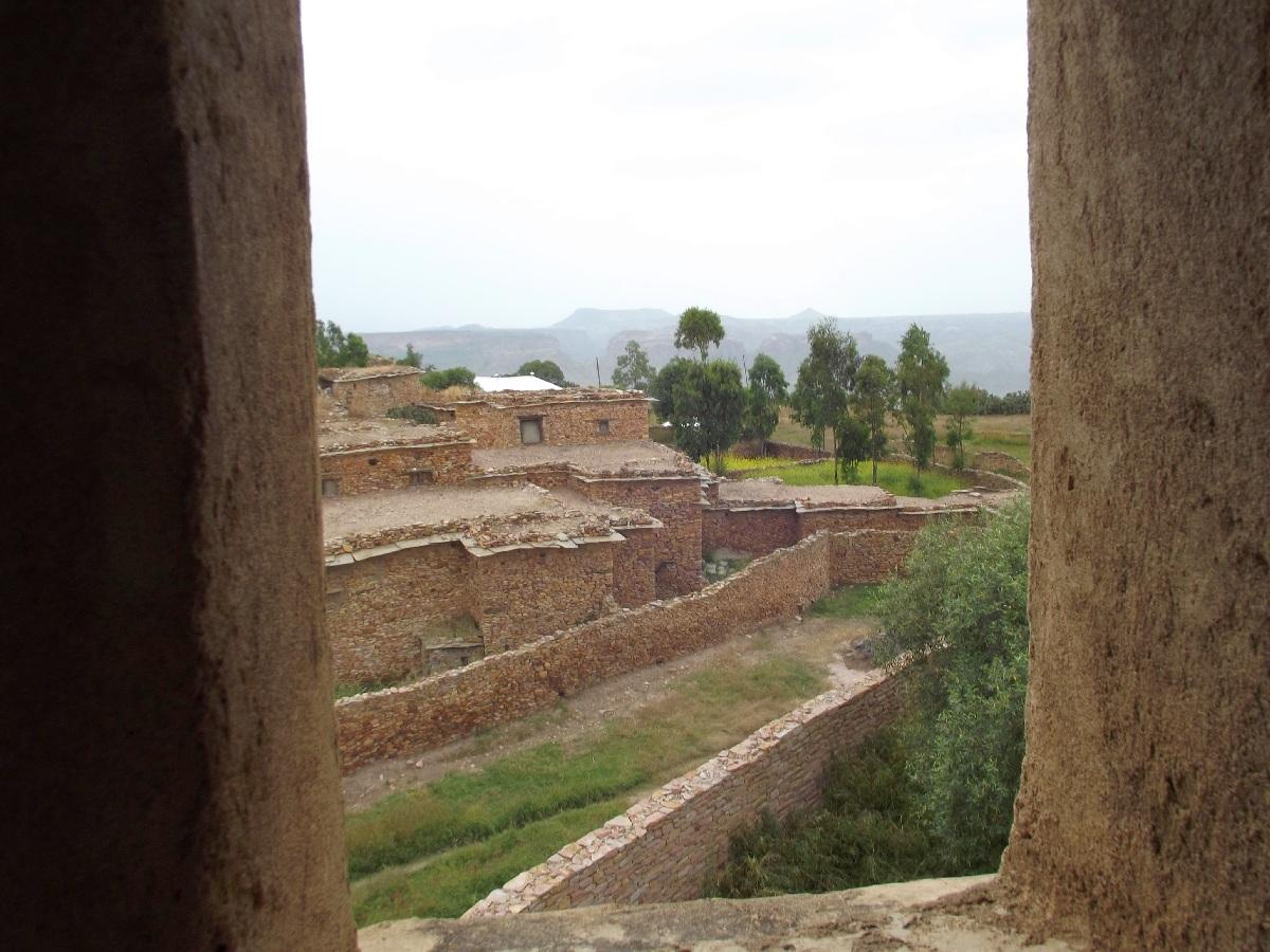 vue du minaret de Dabra Damo