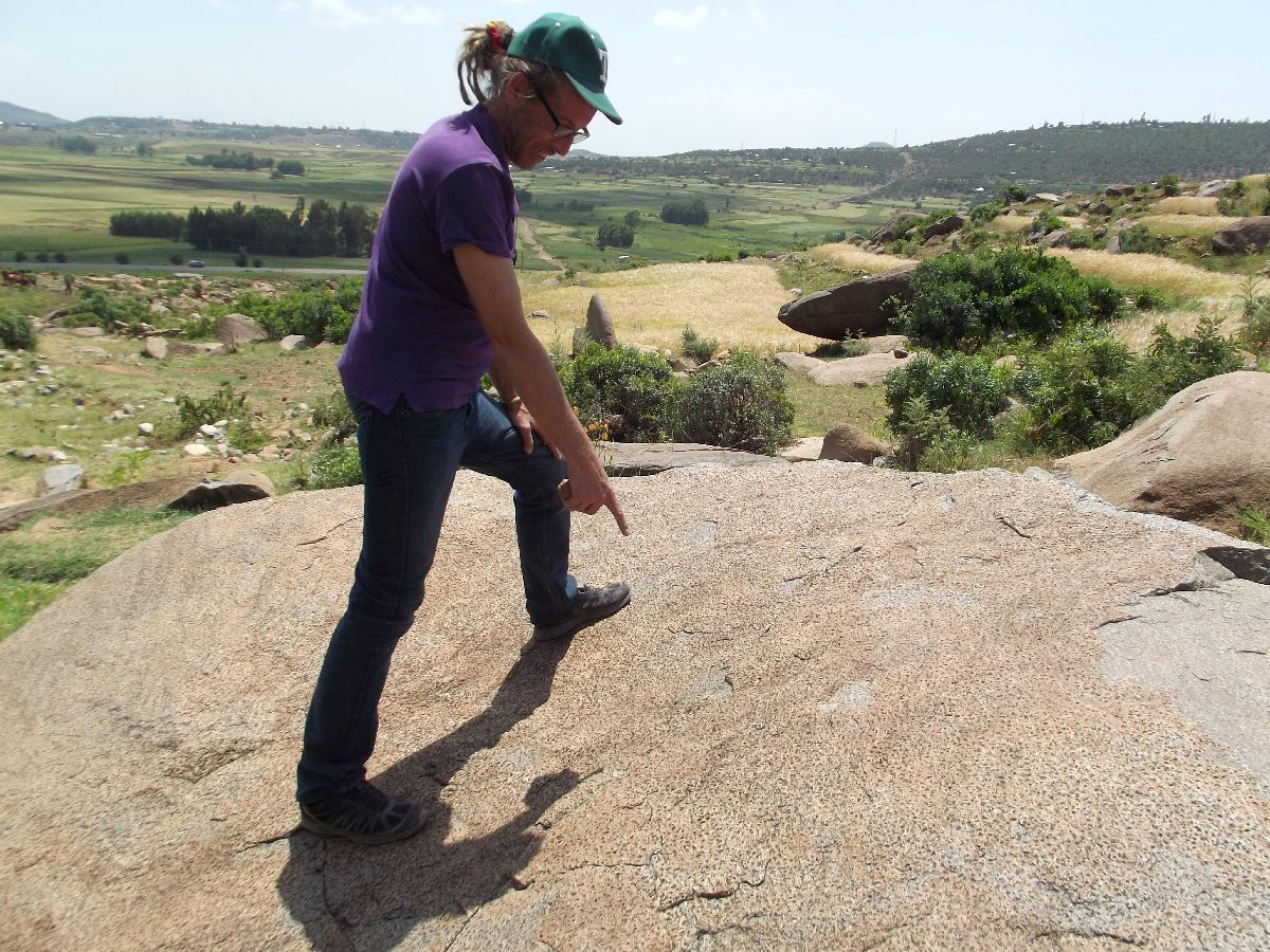 Presque fini ;) Trek, randonnée et visite d'Axum en Ethiopie. Autour d'Axum. Gobo Dura, la Forêt de Granit