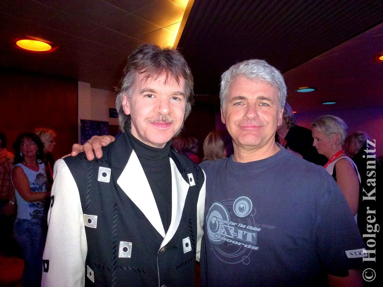 "... mit Peter Hubert, Sänger der NDW-Gruppe ""UKW"""