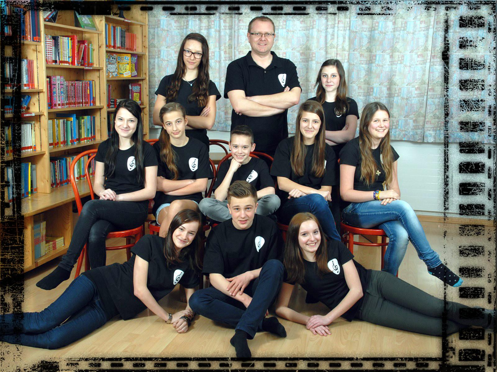 Unsere Band des Schuljahres 2013/14.