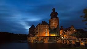 Burg Gemen - Abendstimmung
