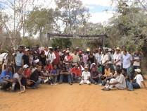 Accueil des éudiants de l'Université de Tuléar, département de la Biodiversité dirigée par Mme Félicitée REJO-FIENENA