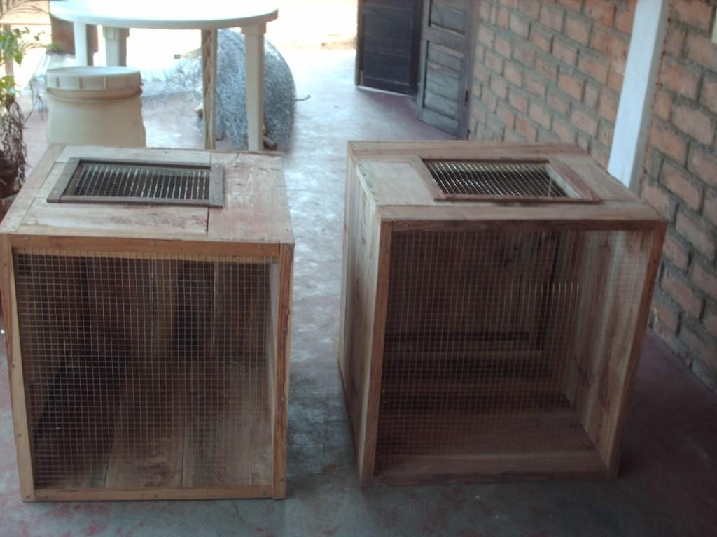 Caisse de transport des Lémuriens