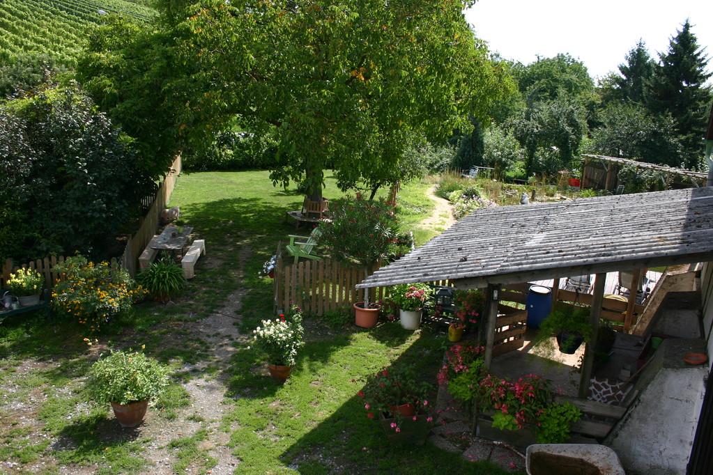 Ansicht von der Terrasse