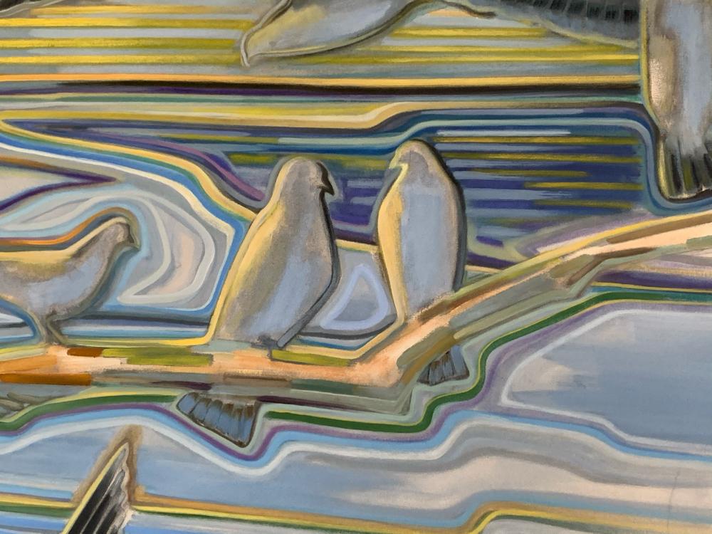 Gemälde Detail