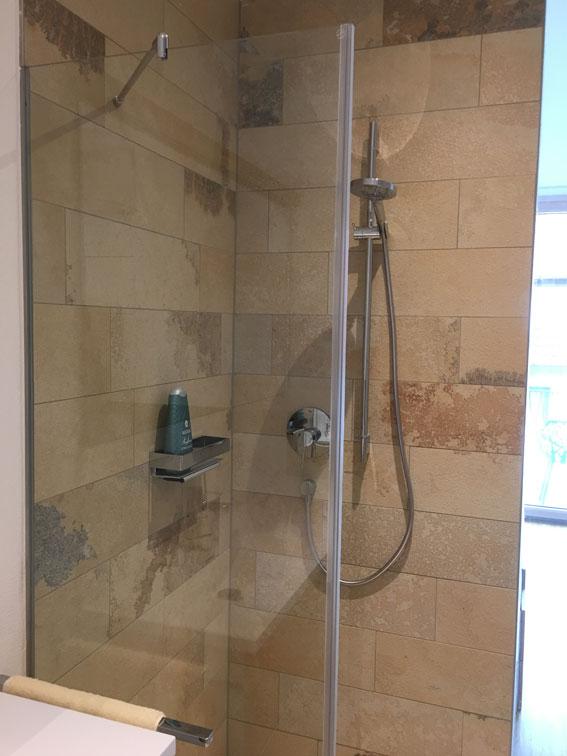 Gäste-Dusche