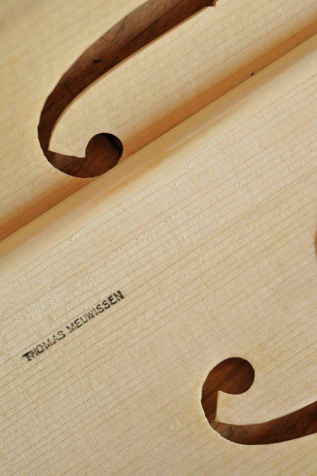 Detail Meuwissen Violin © Rudi Van Beek, 2009