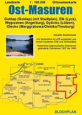 Ostpreussenreise Ost - Masuren