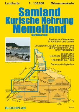 Ostpreussenreise Samland Kurische Nehrung Memelland