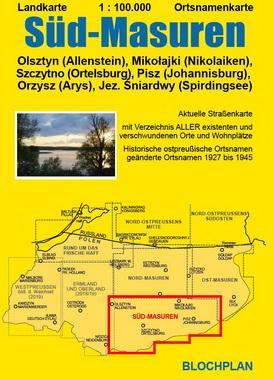 Ostpreussenreise Süd - Masuren