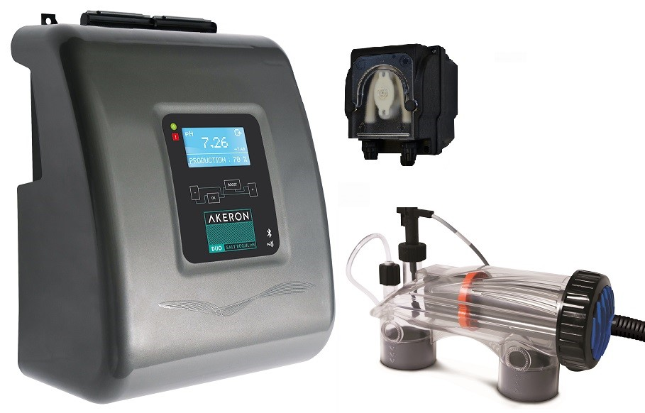 Stérilisateur Akeron RX4 rédox pH Corelec