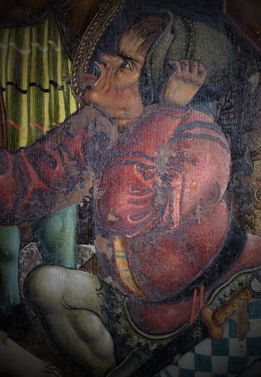 Zustand nach Reinigung und Retusche, Marienaltar (1519), Nonnenempore Kloster Wienhausen