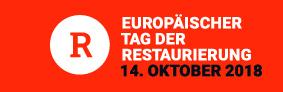 Logo zum Aktionstag 2018, © Verband der Restauratoren