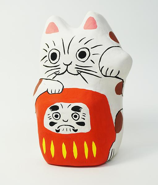 『張り子』3年生 あずさ第一高等学校アートコンテスト 工芸部門優秀賞