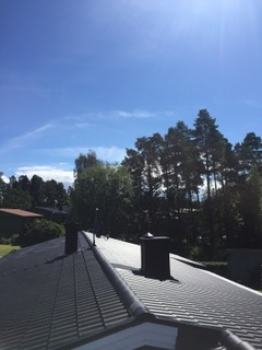 Svart betongpanna - Monier Jönåker Elegant